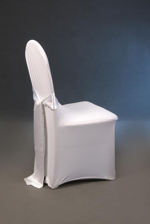 Stretchhusse Weiß